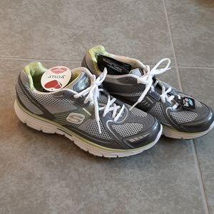 New green & gray Skechers tone-ups - Size 8.5